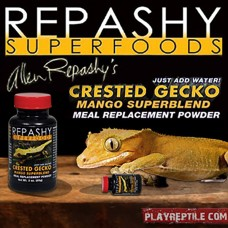 REPASHY CRESTED GECKO MANGO SUPERBLEND 170GR